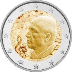 2 Ευρώ, 120 Χρόνια από την Γέννηση του Δ. Μητρόπουλου, Ελλάδα 2016 Η Τράπεζα της Ελλάδος εξέδωσε ένα συλλέκτικό νόμισμα των 2 ευρώ με αφορμή την συμπλήρωση 120 χρόνων απο την γέννηση του σπουδαίου και παγκοσμίου φήμης διευθυντή ορχήστρας Δημητρίου Μητρόπουλου.