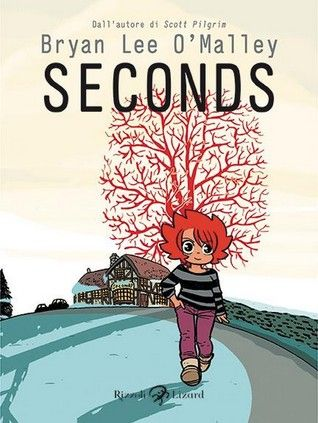 "Bryan Lee O'Malley, ""Seconds"" (2014) EXCELLENT read w/ awesome cameos from Scott Pilgrim characters!"