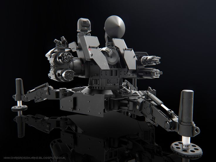 Close In Weapon System CIWS by Chris Rosewarne | Robotic/Cyborg | 3D | CGSociety