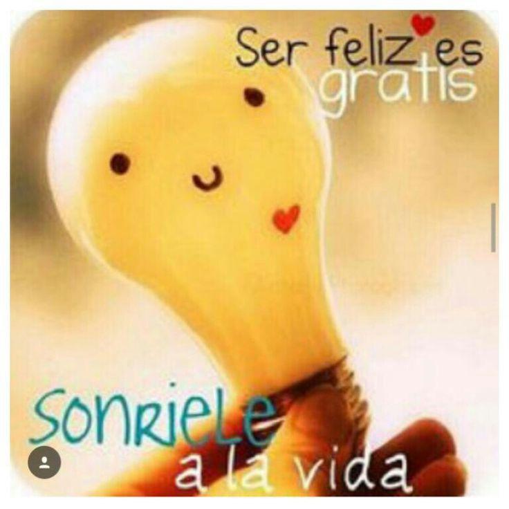 Sonrie a la vida! Feliz sabado!
