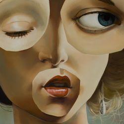 Vivienne  oil canvas