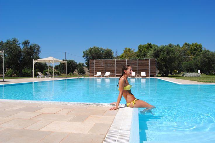 Piscina - Swimming Pool  http://masseriacordadilana.it/  #swimmingpool #travel #piscina #holidays #relax #puglia #hotel #salento #masseriacordadilana ©Lucilla Cuman Photography
