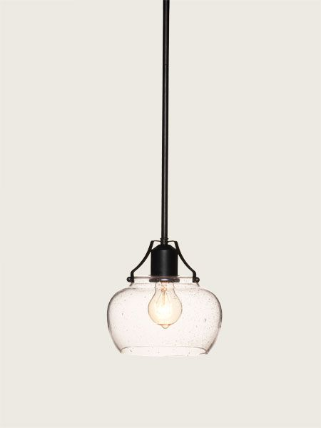 This industrial-style pendant light costs just $65 from Bellacor.com | thisoldhouse.com