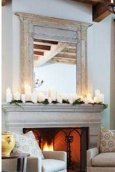 51 best Mantel Decorating images on Pinterest   Fireplace ideas ...