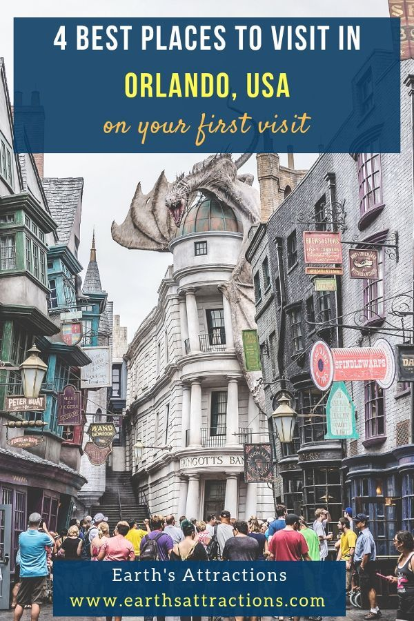 4 Best Places To Visit In Orlando For First Time Visitors Earth S Attractions Travel Guides By Locals Travel Itineraries Travel Tips And More Cool Places To Visit Travel Usa North America Travel