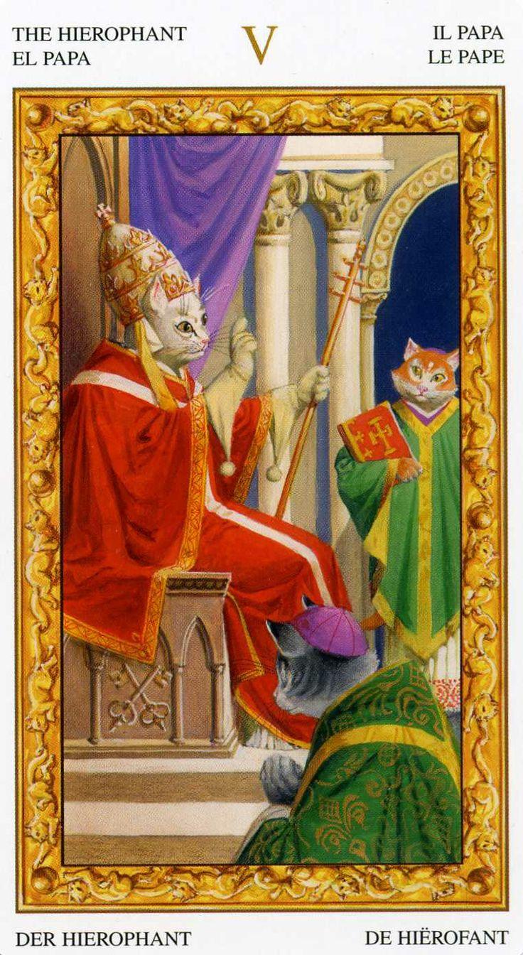 Le Tarot Egyptien De Dusserre: 657 Best Images About The Hierophant On Pinterest