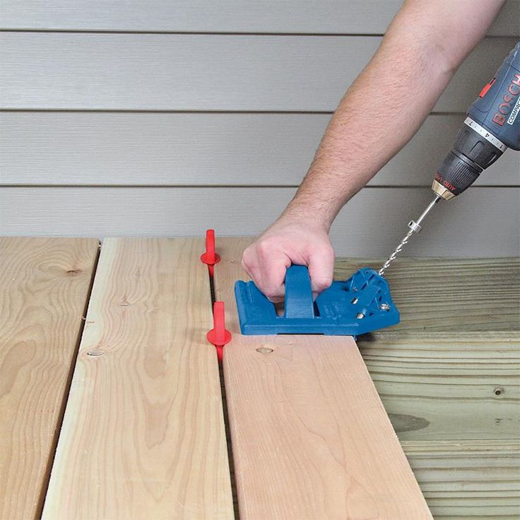 With the Kreg Deck Jig, and a few simple tools you already own, you can create a beautiful and functional deck surface that is completely free of exposed fasteners and painful splinters