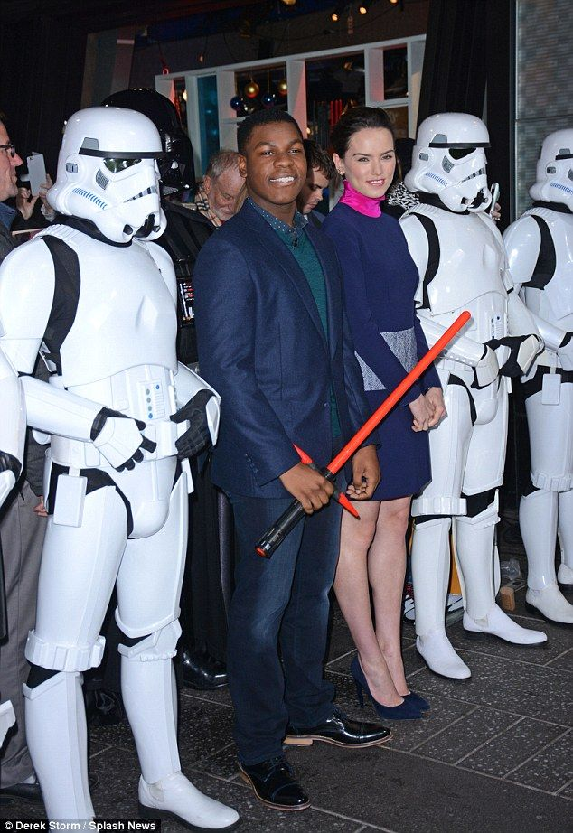 Still booked it! John Boyega admitted he 'bottled' his Star Wars audition on Wednesday's G...
