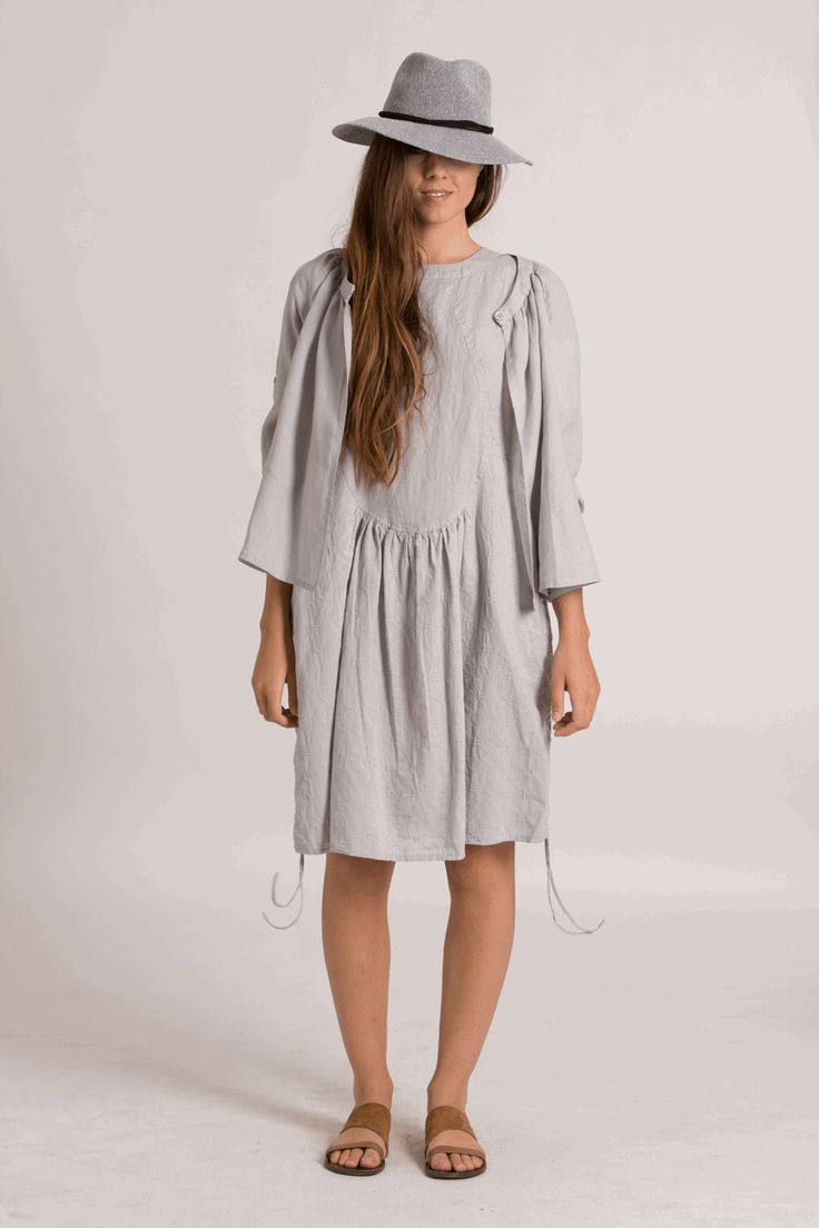 FLORA DRESS | steel
