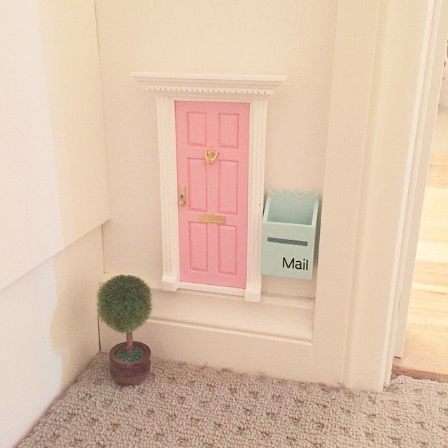 Fairy door diy fairy door for Irish fairy door ideas