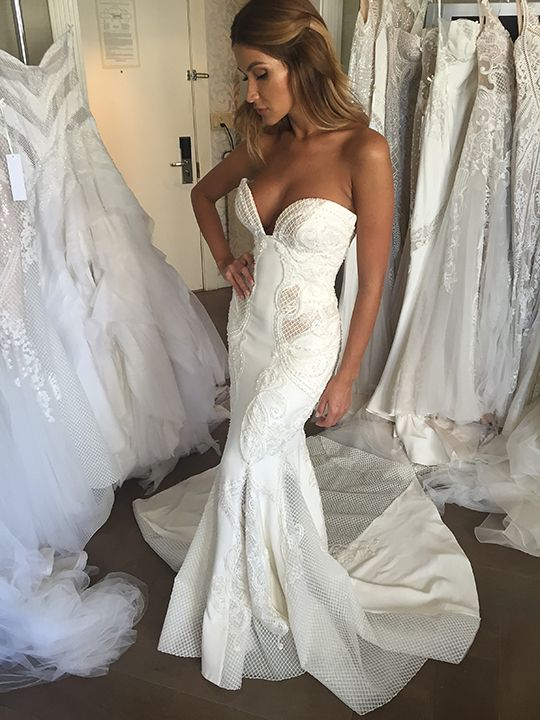 Goodliness Wedding Dresses Lace Open Back Gown