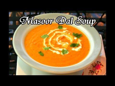 Masoor Dal Soup - YouTube