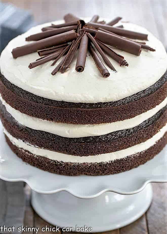 Triple Layer Chocolate Cake Chocolate Cake With Coffee Triple Layer Chocolate Cake Decadent Chocolate Cake
