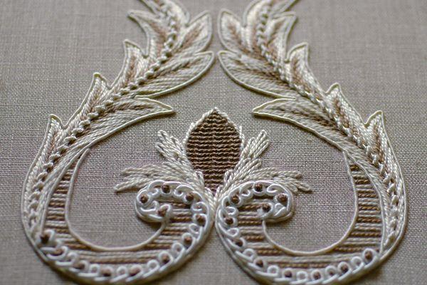 フランス刺繍の作品例