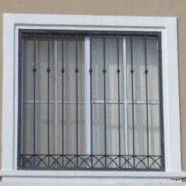 Fotografía de modelo de herrería de ventana