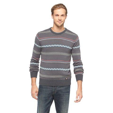 20 Dickies® Men's Striped Crewneck Sweater