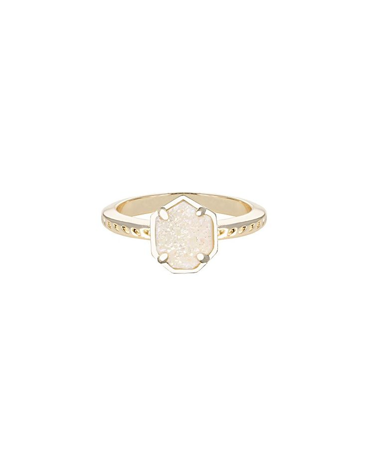 Kendra Scott Calvin Ring in Iridescent Drusy