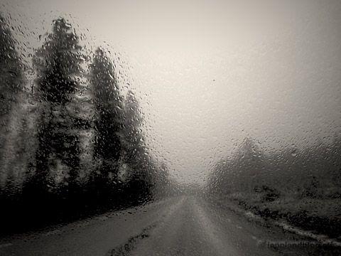 Eisregen - Regen bei null Grad