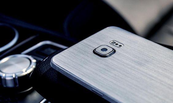 Folii Carbon 3M Skin Samsung Galaxy S6 / S6 Edge / S6 Edge Plus