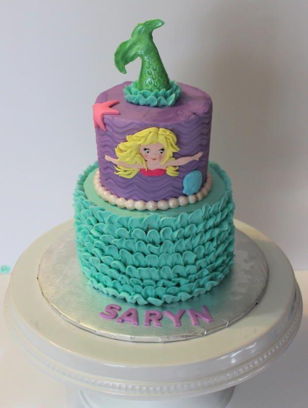Swimming Mermaid Cake - Cake by KatesBakes
