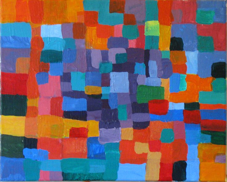 examples of abstract paintings | painting is PURPLE PAINTING. It is an example of my current painting ...