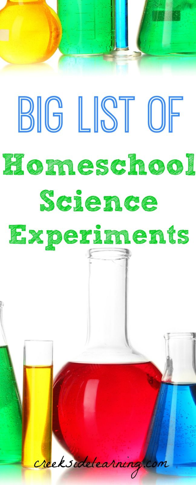 Homeschool Science Experiments from Astronomy to Zoology and everything in between: Force and Motion, Chemistry, Nature Study, Science Equipment, Holiday/Season science themes and more.