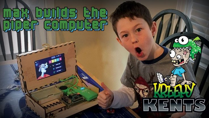Max Builds the Piper Computer Kit for Kids