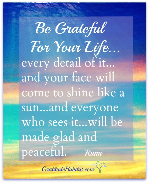 Image result for inspirational gratitude quotes rumi