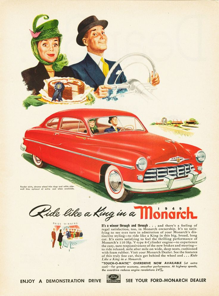 1940's advertising old car ads home old car brochures