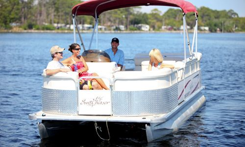 Panama City Beach Pontoon Boat Rentals.  We are so renting a pontoon and heading to Shell Island!!!