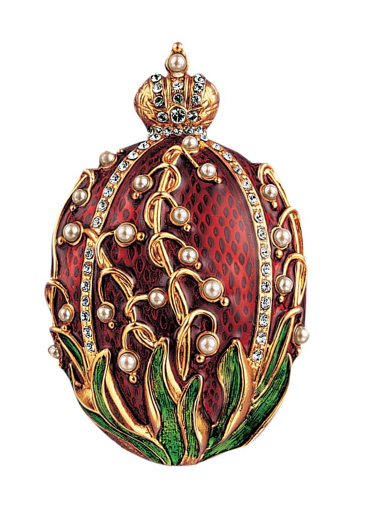 SEVEN (7) Laminated Prints of Faberge Eggs                                                                                                                                                                                 More