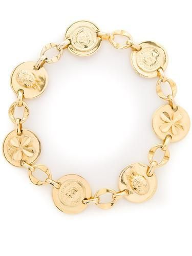 CHANEL VINTAGE Coco Chanel lucky necklace #jewelry #chanel #cocochanel #women #designer #covetme #chanelvintage