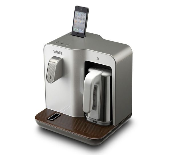 The iPod dock is a little silly, but the rest of it is smart. Wells Smart Mini is a water purifier that can pour out chilled drinking water and double up as an electric kettle.
