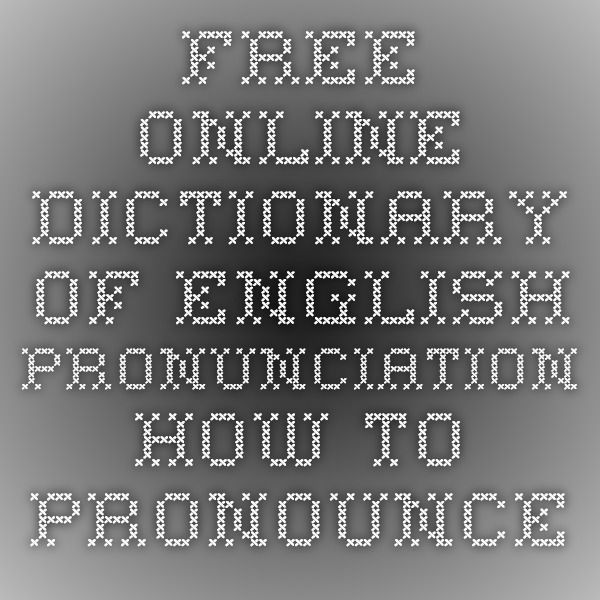 Macmillan Online Dictionary with Free Audio Pronunciation ...