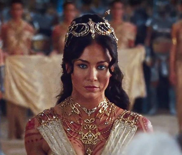 "Lynn Collins as Dejah Thoris from Disney's ""John Carter"""