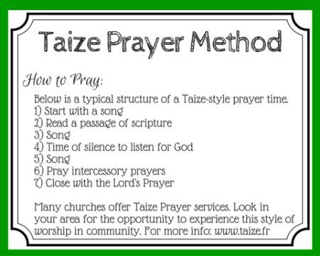 Taize Prayer: Meditative Prayer Through Music