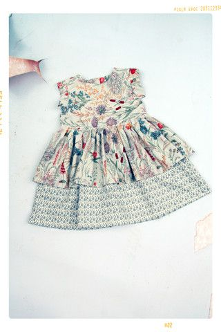The Bring to Bloom Girls Floral Ruffle Skirt Dress – Fleur + Dot
