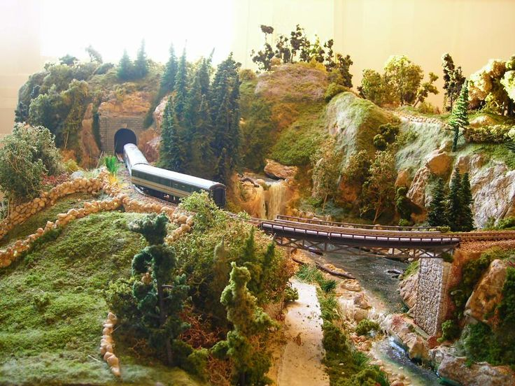 model+trains+layouts | Model Train Layouts | Model Railroad Layouts