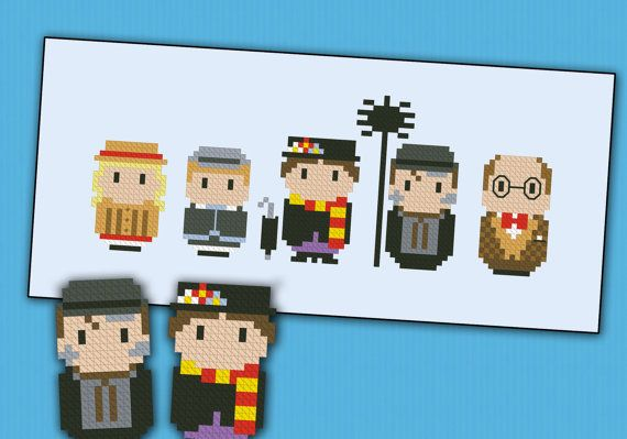 This is a parody, an inspirational cross stitch pattern of the movie Mary Poppins. This is a superfun pattern featuring Jane, Michael, Mary Poppins, Bert and uncle Albert  PATTERN DETAILS: Stitches: 88x33 Size (with 14 count Aida fabric): 16x6 cm  With purchase, youll receive a download link with: A PDF color and symbols pattern A Symbol Key page in DMC / Anchor floss code  -----------------------------------------------------------------------------------------------------  This is an…