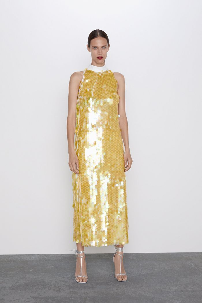 Zara Limited Edition Sequin Dress Sequin Dress Dresses Cute Dresses For Party