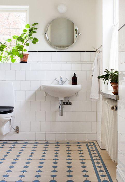 Rymligt badrum - Inspiration: Byggfabriken – modern byggnadsvård