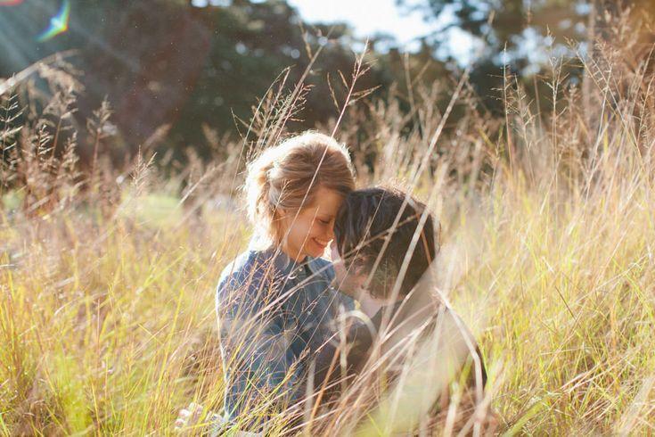 Leah and Tim's Quirky Winter Engagement Photos – Centennial Park, Sydney – Gemma…