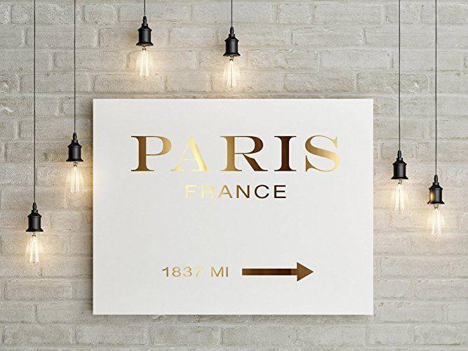 Paris Frankreich, Prada Marfa inspiriert, Marfa Gossip Girl inspiriert, Paris, Prada Marfa Print, Prada Marfa Art, Prada Marfa Dekor, Echtgoldfolie.