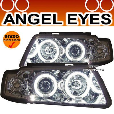 Angel eyes scheinwerfer #chrom vw #passat 3b limo + variant #*96-00,  View more on the LINK: http://www.zeppy.io/product/gb/2/190790370465/