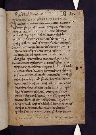 Benedictine Rule
