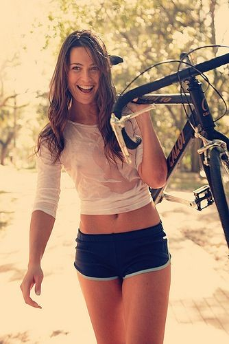 I'm just going to show up one day like this and say, yep, ready to ride. ;)