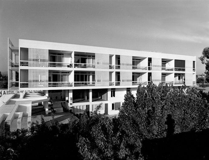 Apartment building on Kifissias Avenue, Athens (1958)