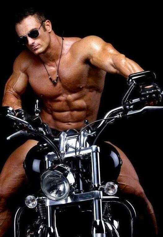 Hot men on harleys
