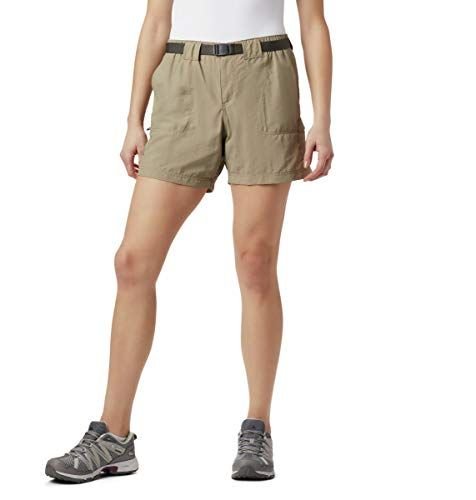 Columbia Damen Plus Size Sandy River Cargo Short, Stoßzahn, 2X   – Shorts For Women