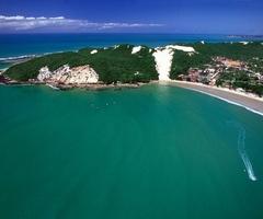 ponta negra beach, natal, rio grande do norte, brasil